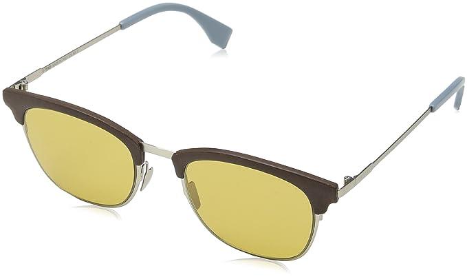 Fendi FF 0228/S 70 4ES, Gafas de Sol para Hombre, Marrón ...