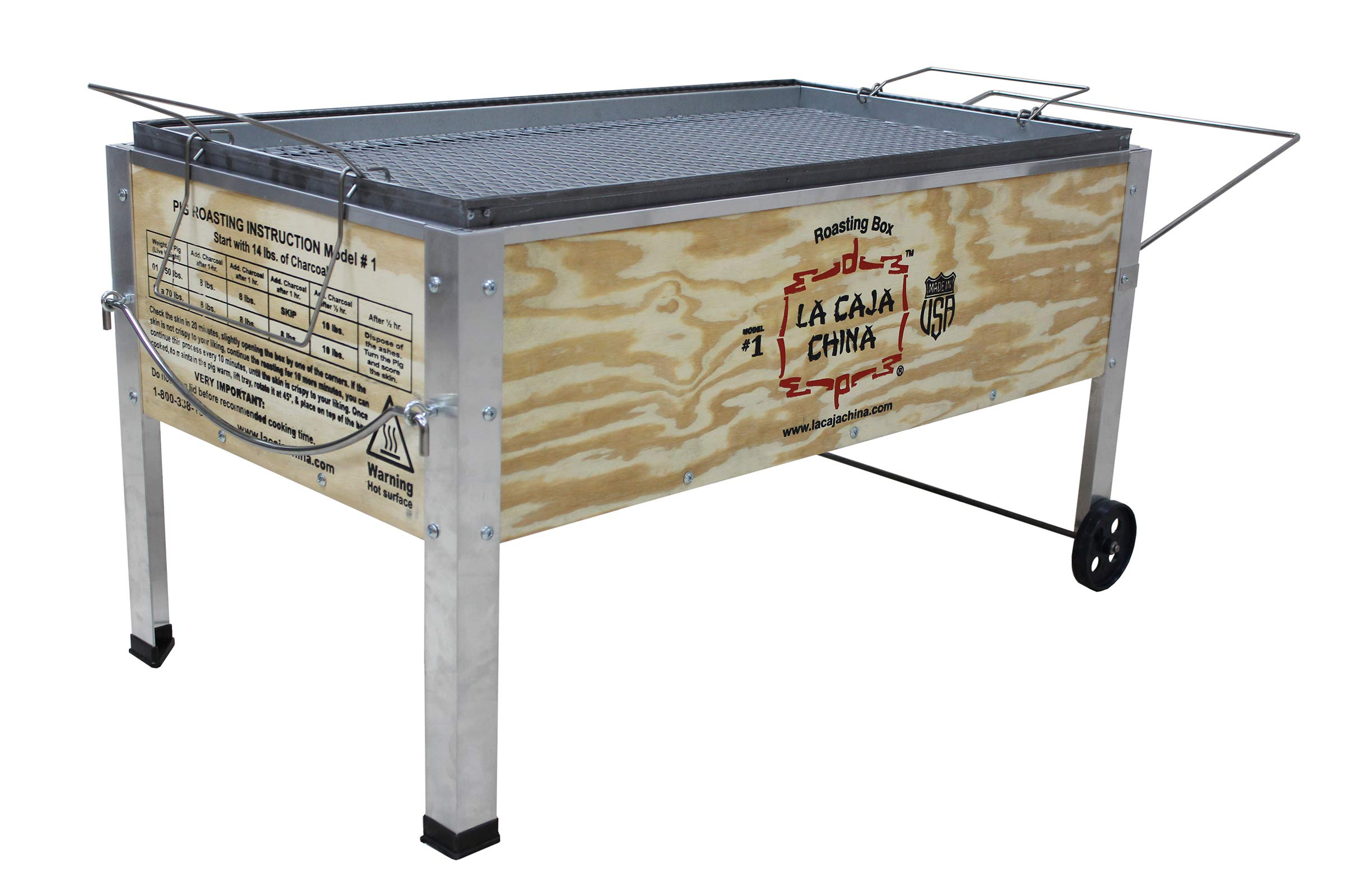 La Caja China Model #1 70 lb Pig Roaster, Medium/70 lb.