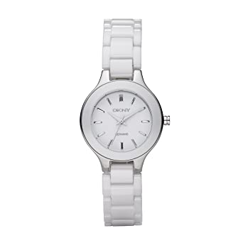 Dkny damen armbanduhr analog quarz keramik ny4912