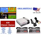 Mini Retro Classic Game Consoles Built-in 600 Childhood Classic TV Video Games Dual Control 8-Bit Console Handheld Game Player made exclusive SA628RCA model