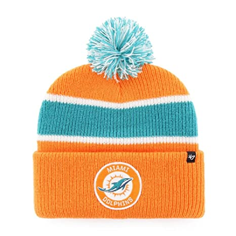 Image Unavailable. Image not available for. Color   47 Miami Dolphins Beanie  Hat Noreaster Vintage Knit 92b42fd3f8a1