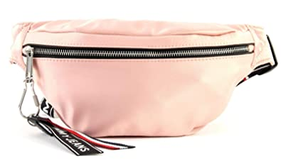 9e2cf4f823 Image Unavailable. Image not available for. Colour: Tommy Jeans Logo Bumbag  Satin W hip bag