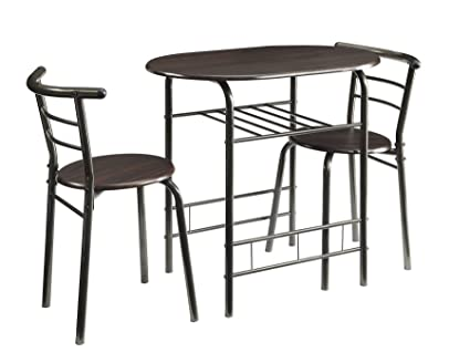 Coaster 3 Piece Dining Set In Brown