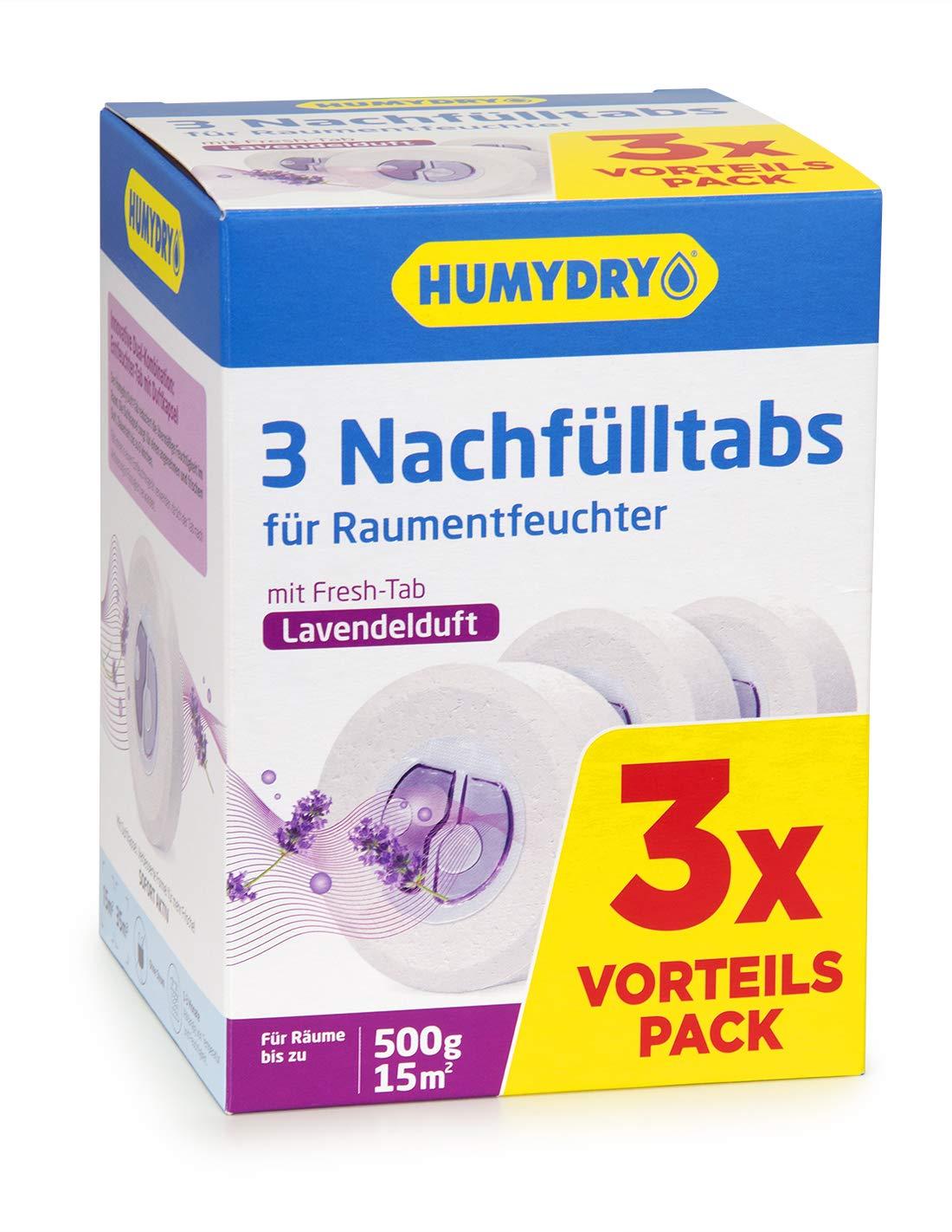 Nachf/üllpackungen Tab 3x500g Lavanda HUMYDRY