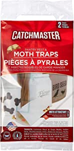 Catchmaster Moth and Pantry Pest Trap: Two Packs of Two -Packaging may vary