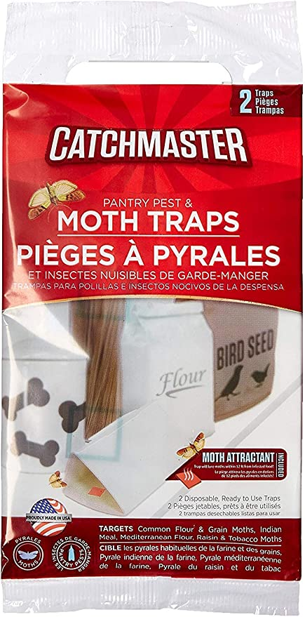 Details about  /Catchmaster Pantry Pest and Moth Traps Pack of 24 Traps