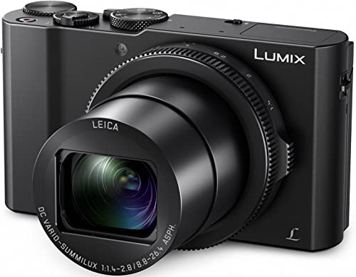 PANASONIC LUMIX LX10 4K Digital Camera, 20.1 Megapixel 1-Inch Sensor, 3X LEICA DC VARIO-SUMMILUX Lens