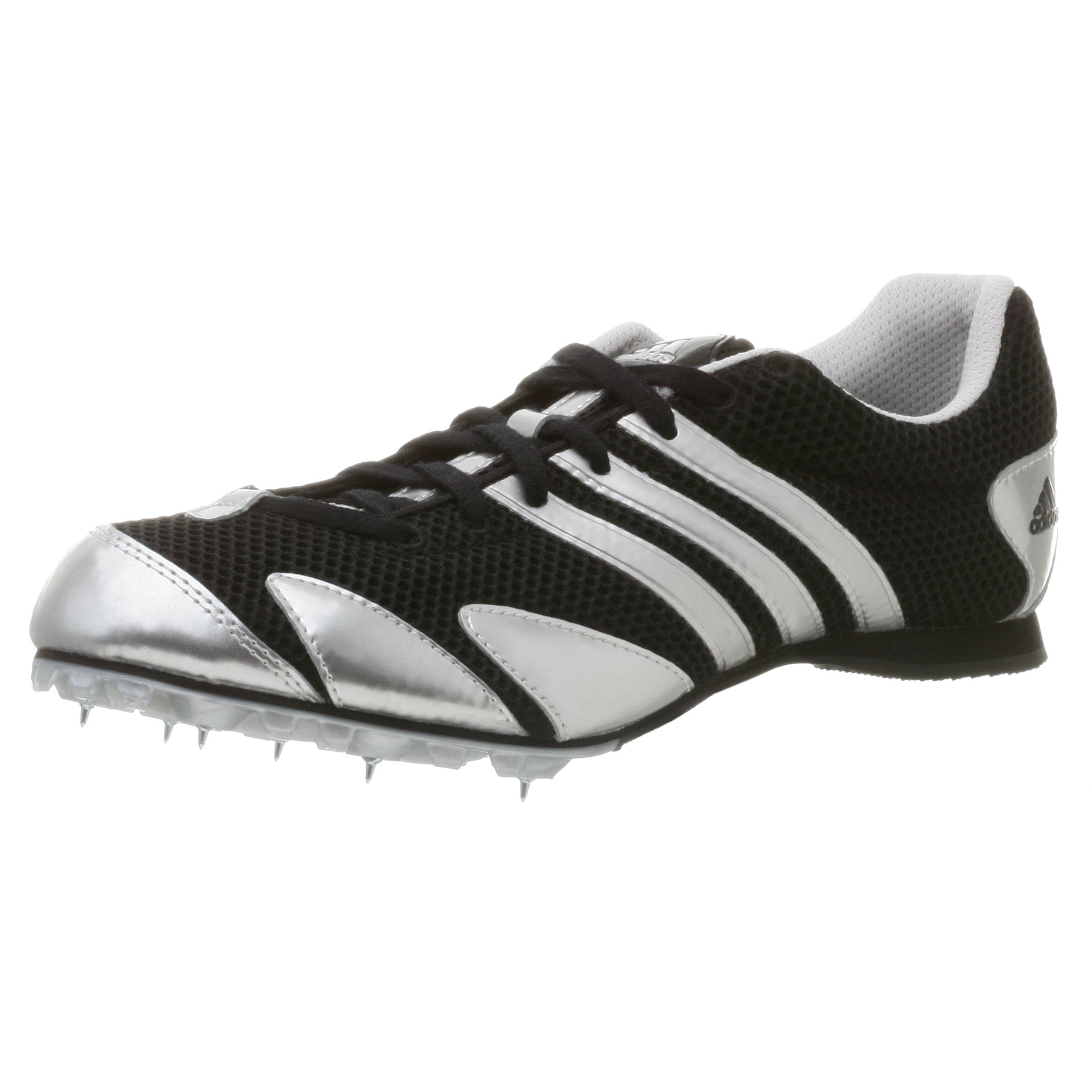 adidas Men's Cosmos 07 Track Shoe,Black/Metsilver/Blk,7.5 M by adidas (Image #1)