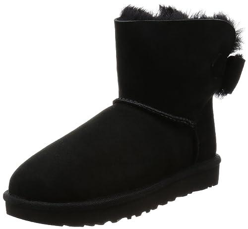 4c79080268e UGG Naveah Women's Mini Bow Boots: Amazon.ca: Shoes & Handbags