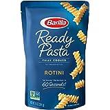 BARILLA Ready Pasta, Rotini, 8.5 oz. Pouch (Pack of 6) - Non-GMO, No Preservatives - Perfect Microwave Pasta Ready in 60 Seco