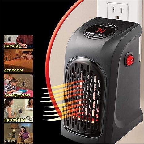 Vinteky® Portátil, Seguro, Bajo consumo, 400W MINI Calefactor de pared Heater Eléctrica