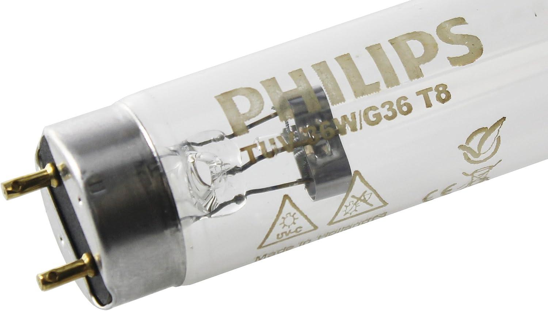 Philips TUV TL tubo fluorescente 36 UV C germicida pond purifying proyección