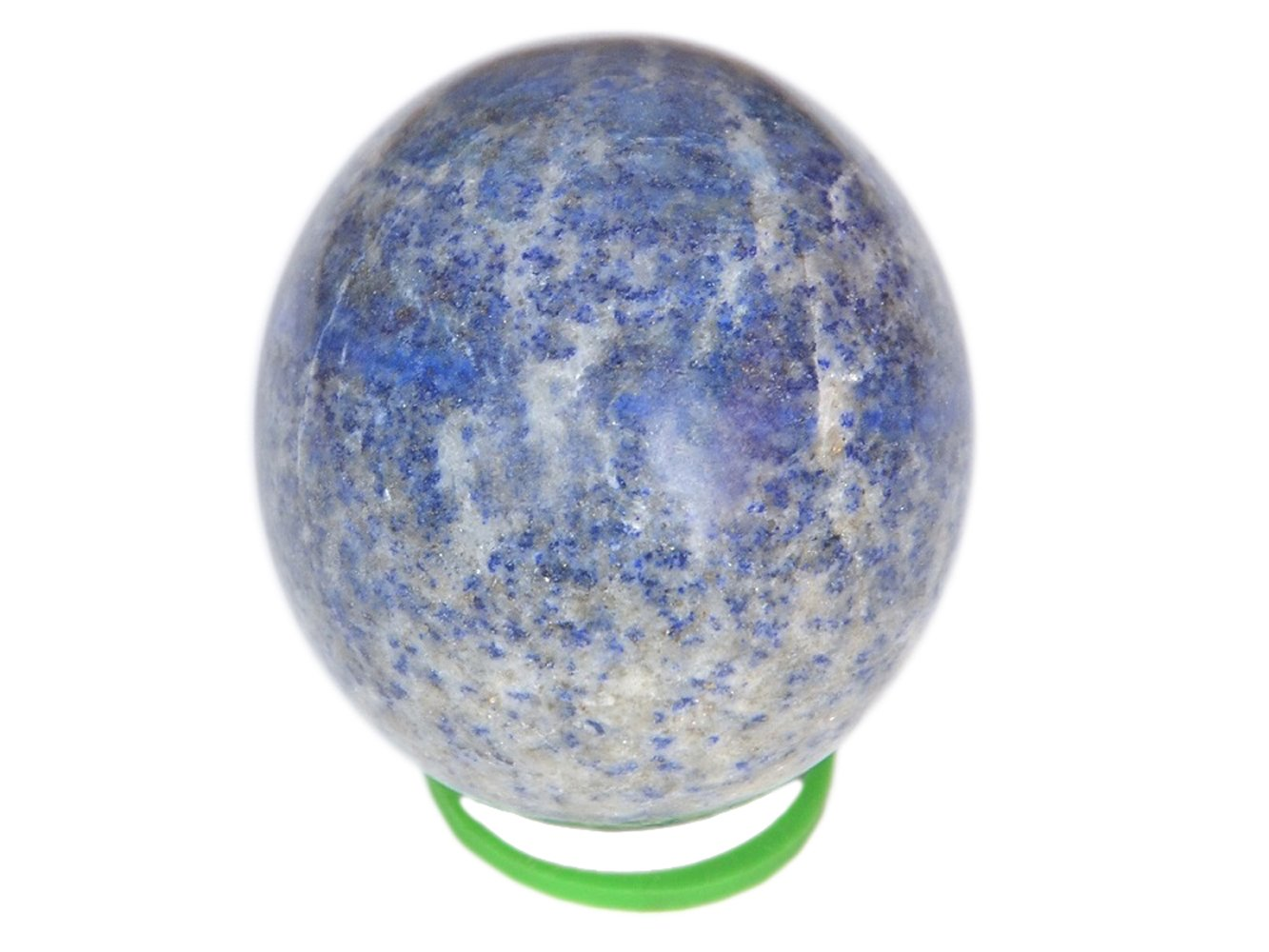 WholesaleGemShop 3 '' Blue Lapis Lazuli Sphere Natural Crystal Ball Polished Mineral Stone Afghanistan by WholesaleGemShop
