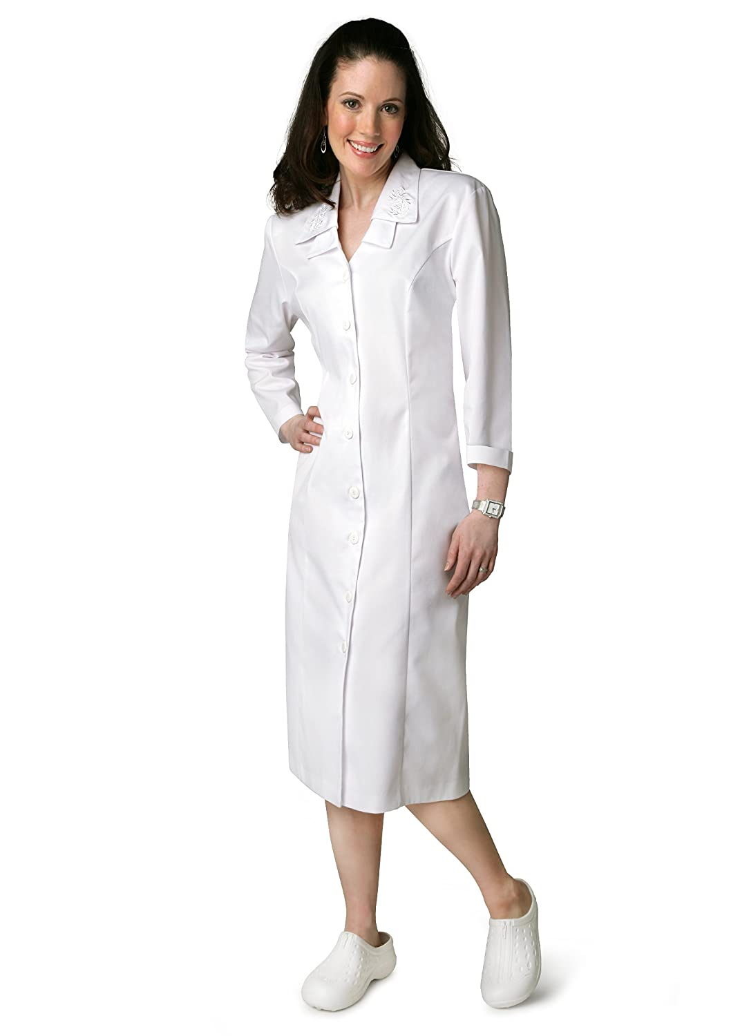 Adar Double Embroidered Collar Dress