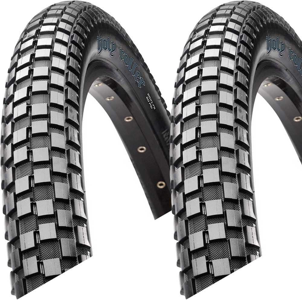 2x Pneus Maxxis Holy Roller 55-507 24 in fil noir MaxxPro