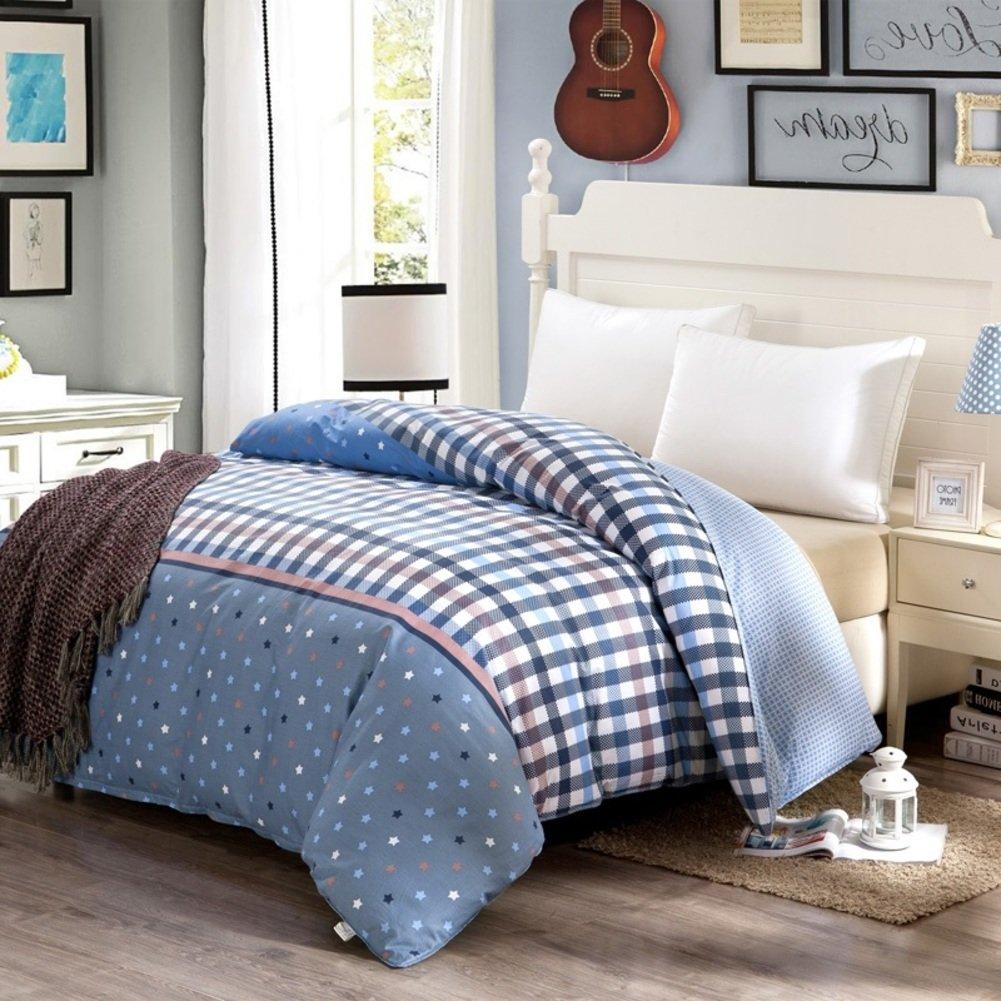 College quilt/one piece cotton quilt/cotton quilt cover-E 200x230cm(79x91inch)
