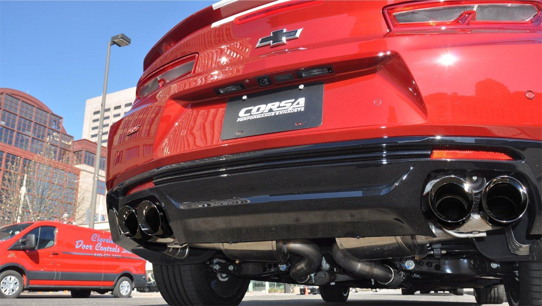 Chevrolet Camaro SS 6.2L V8 Extreme Axle Back Corsa 14784BLK Exhaust
