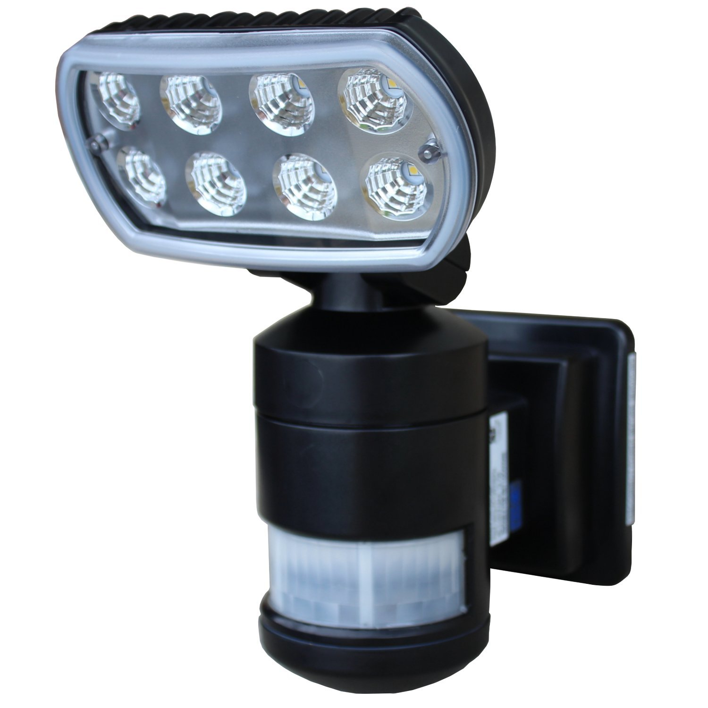 Versonel VSLNWP502B Nightwatcher Security Motion Track Light, Black