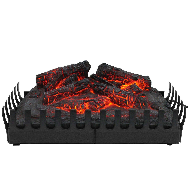Classic Fire Elektrofeuer Kamineinsatz mit simuliertem Flammeneffekt Feuereffekt