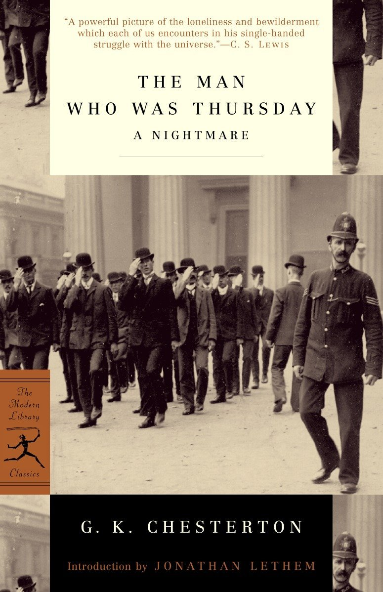 Read Online The Man Who Was Thursday: A Nightmare (Modern Library Classics) ebook