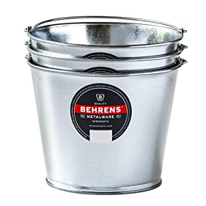 Behrens  Galvanized Utility Steel Pail Ice Bucket