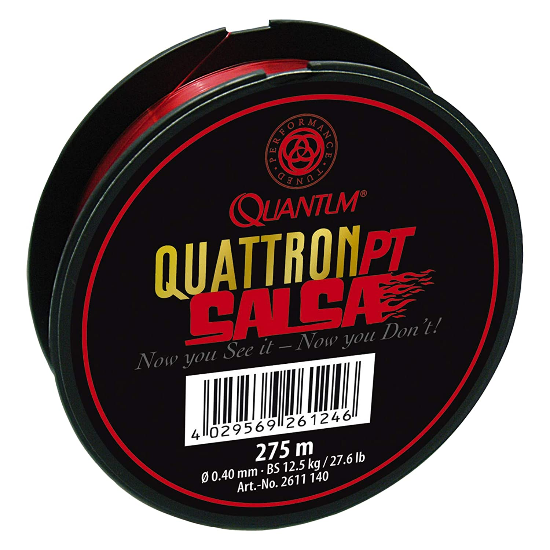 Quantum Quattron Salsa 0,20 mm 3,50kg Rot 275m