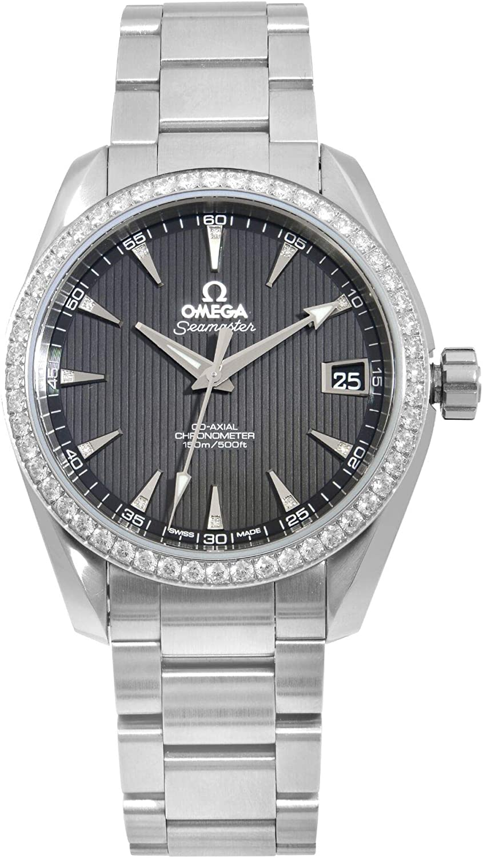 Omega Seamaster 231.15.39.21.51.001 Aqua Terra - Reloj de pulsera con esfera negra