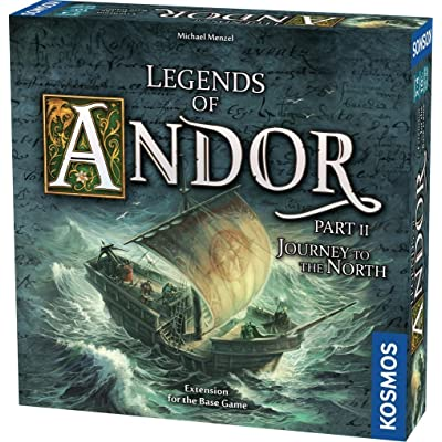 Thames & Kosmos Legends of Andor: Journey to The North, Expansion Pack, Cooperative Board Game, 1 – 4 Players, Fantasy, Family Game by Kosmos: Toys & Games