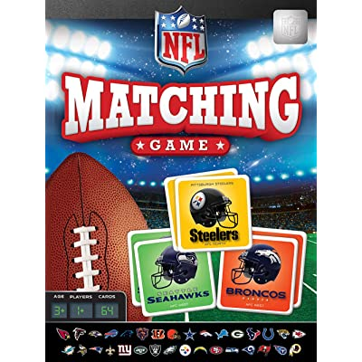MasterPieces NFL Matching Game, Includes All 32 Teams, for Ages 3+: Toys & Games