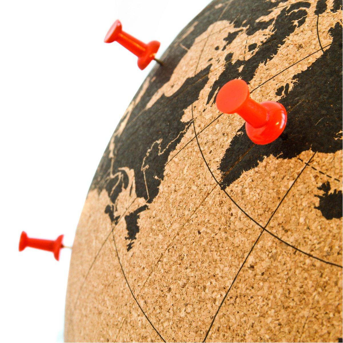 Suck UK Globo di Cork Mappamondo, Legno, Marronee Nero, Piccolo Piccolo Piccolo | Primi Clienti  | Prima i consumatori  | Moda moderna ed elegante  | Economico  | Elegante E Robusto Pacchetto  | Diversificate Nella Confezione  | Rifornimento Sufficiente  | Di Alta d8d1fe