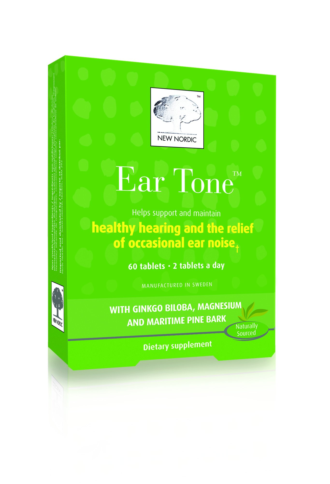 New Nordic Inc Ear Tone 60 Tablets