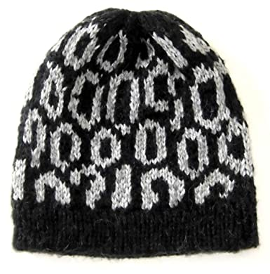 a61eaf7d868 Image Unavailable. Image not available for. Color  Alpakaandmore Mens  Alpaca Wool Beanie Hat One Size Black ...