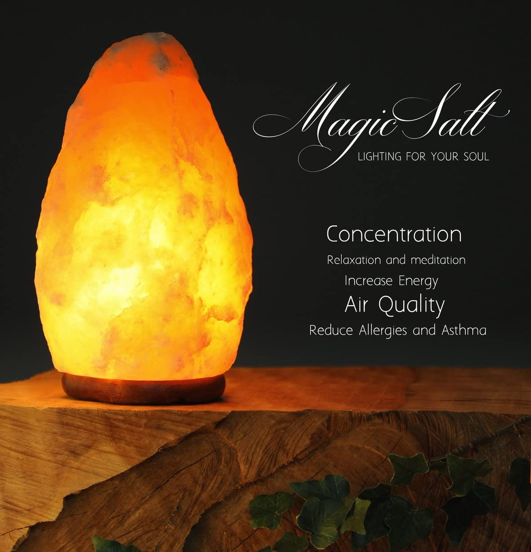 Lámpara de Sal del Himalaya - MAGIC SALT ® Lighting For Your Soul - (2/3 Kg.)