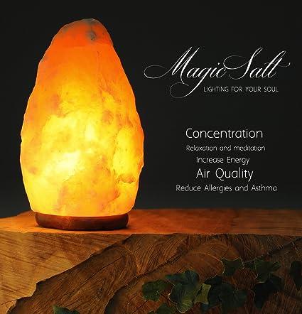 Lámpara De Sal Del Himalaya Magic Salt Lighting For Your Soul