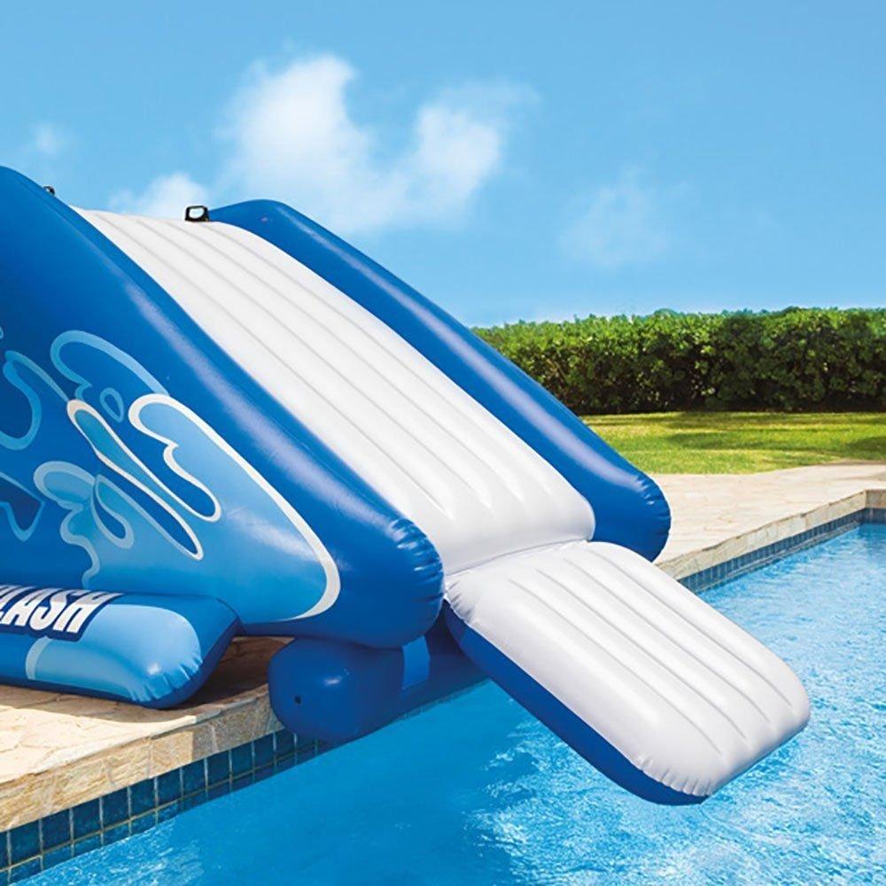 Alek...Shop Water Slide Accessory Play Swimming Pool Inflatable Splash Slide Kids Easy Fun Game Family Center Slide by Alek...Shop (Image #2)