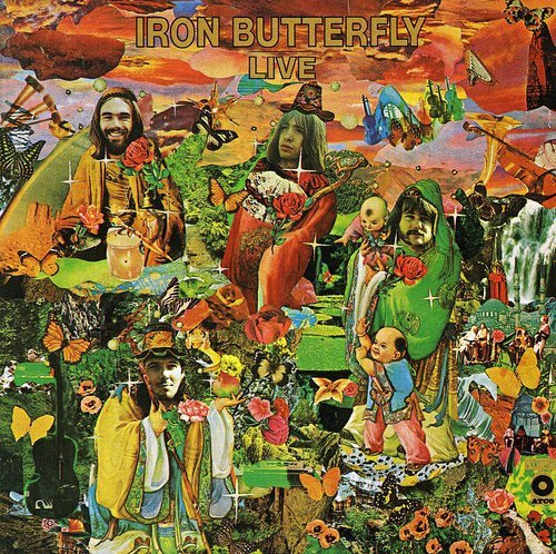 - Live: IRON BUTTERFLY