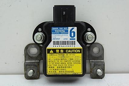 Yaw Rate Sensor >> Amazon Com Oem 10 11 12 Toyota Yaris Camry Pruis Stability