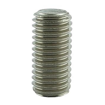 5 Stück Madenschrauben Gewindestifte M4 x 40 mm ISK DIN 913 Edelstahl V2A VA A2