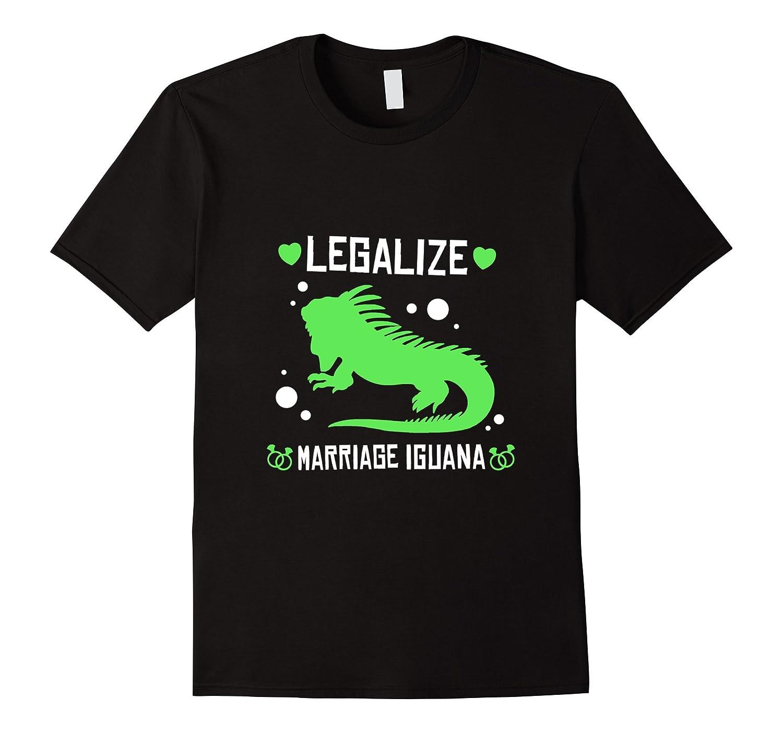 Funny Legalize Marriage Iguana T-shirt Pet Zoo Farm Gift-CD