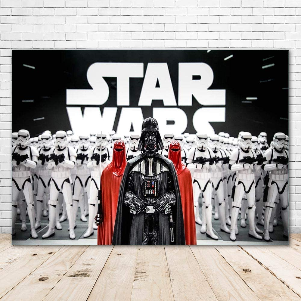 15x10ft Background Star Wars Hometown Photography Backdrop Events Photo Props,Backdrop Can be Stuck on The Wall DSFU250