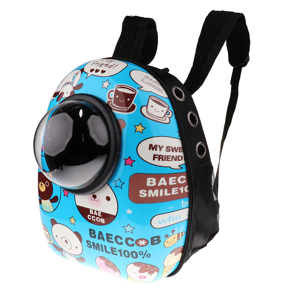Bear MonkeyJack Astronaut Pet Cat Dog Puppy Carrier Outdoor Travel Bag Space Capsule Backpack Breathable Bear