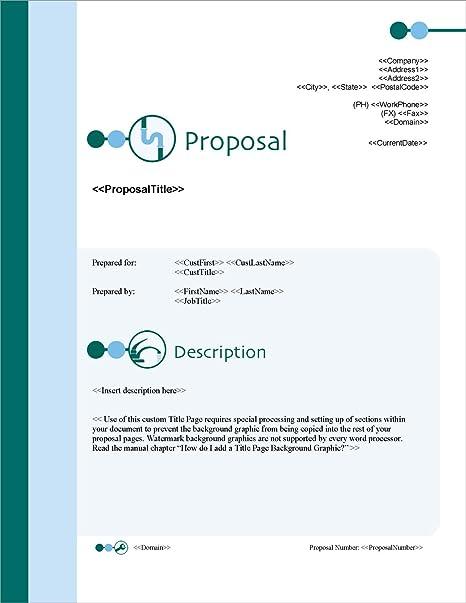 Amazon com: Proposal Pack Plumbing #1 - Business Proposals