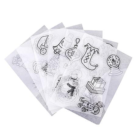 White Shrink Art Shrink Plastic Heat Shrink Paper Sheets for Jewelry Making