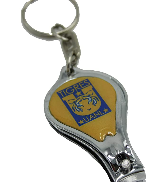 Amazon.com : Tigres Soccer Mexico Key Chain Nail Clipper ...