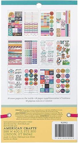 American Crafts 1580 Piece Faith Sticker Books hree P ck