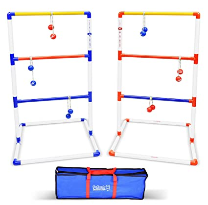 Amazon gosports premium ladder toss game with 6 bolos and gosports premium ladder toss game with 6 bolos and carrying case solutioingenieria Image collections