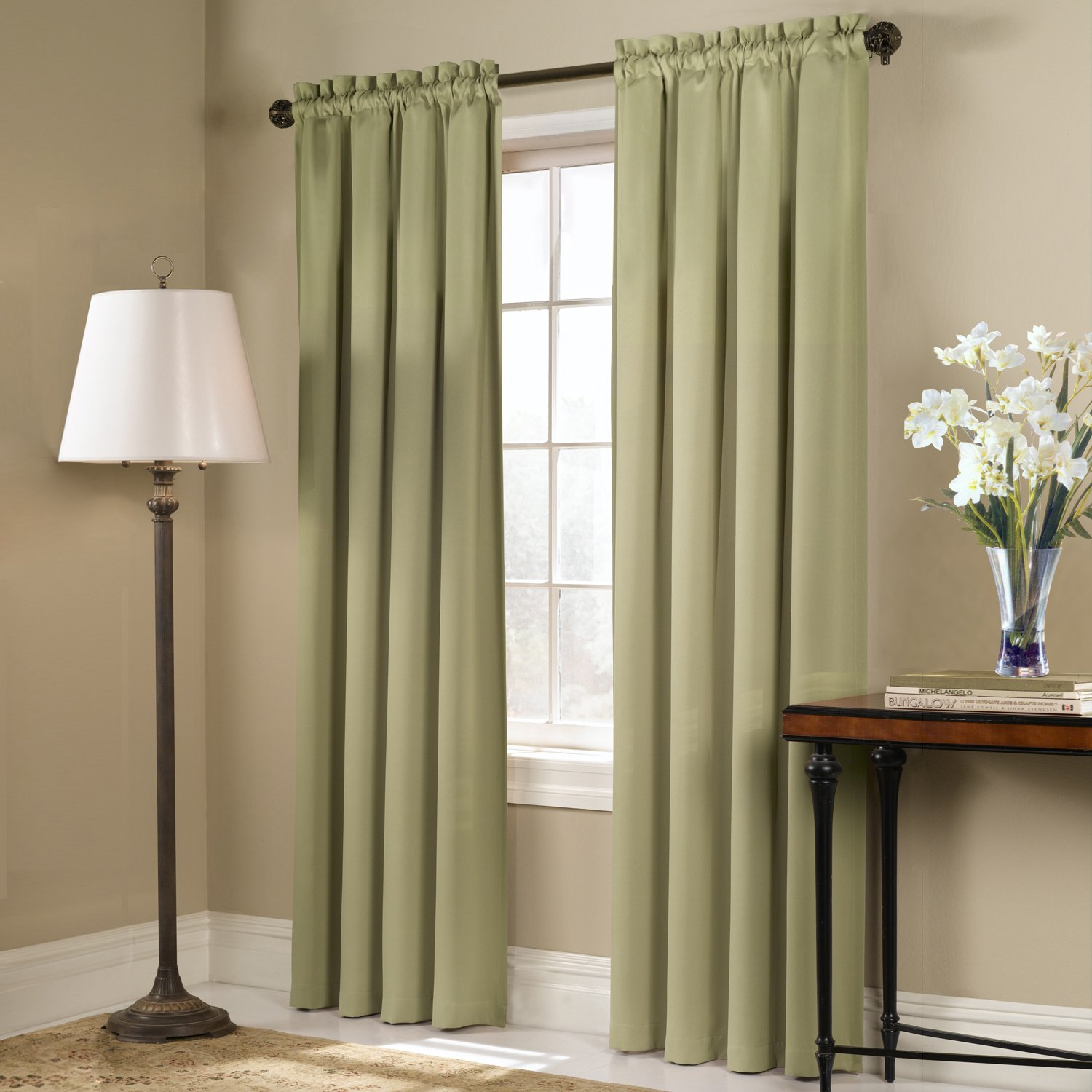 full scarf designs pair of products or sage warm window green curtains curtain valance home sheer