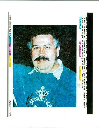 Amazon.com: Vintage photo of Pablo Escobar: Entertainment ...