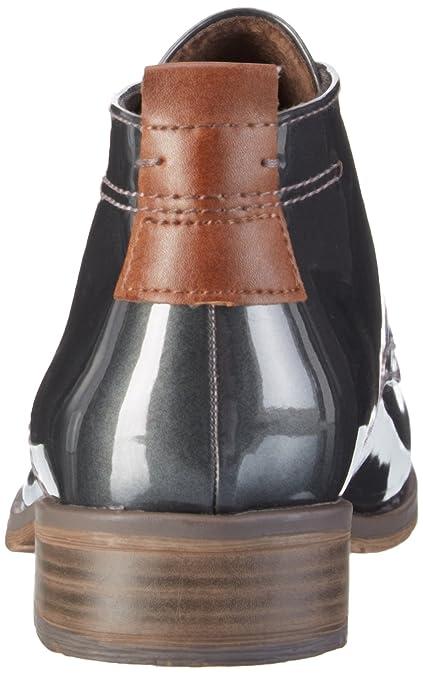 Marco Tozzi Damen 25118 Desert Boots, Silber (Pewter Pat.Com 913), 41 EU