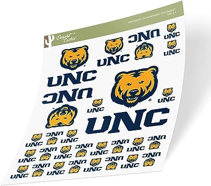 University of Northern Colorado UNC Bears NCAA Name Logo Vinyl Decal Laptop Water Bottle Car Scrapbook 8 Inch Sticker